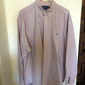 Ralph Lauren Polo long sleeve, button down, XL
